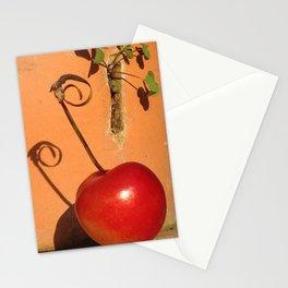 Cherry Spiral Stationery Cards