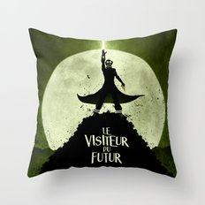 LE VISITEUR DU FUTUR - NO FUTURE Throw Pillow
