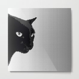 Panther Breath Metal Print
