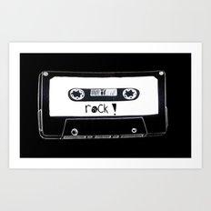 Rock your world! Art Print
