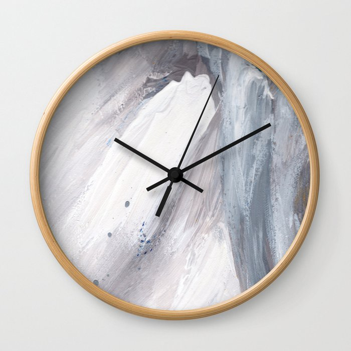 Crashing Waves v.2 Wall Clock