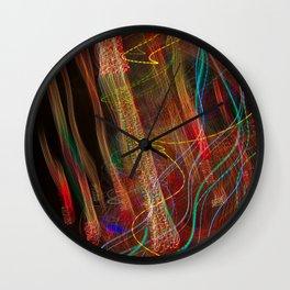 Dancing lights Wall Clock