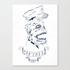 Captain Fury Canvas Print