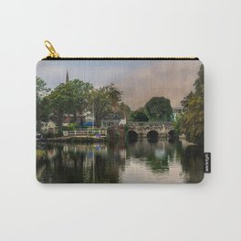 Above The Bridge In Abingdon Carry-All Pouch