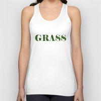 grass Tank Tops featuring grass by Кaterina Кalinich