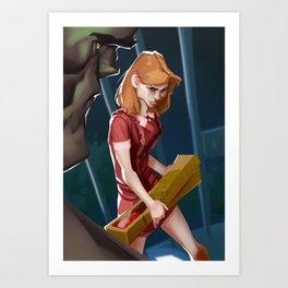 Sarah Conner Art Print