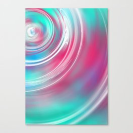 Decks Abstract Ripple Print Canvas Print