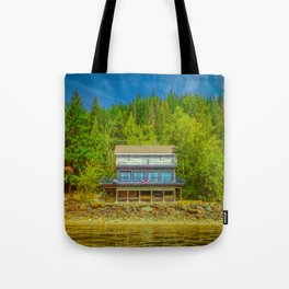 Squilax Cabin Tote Bag
