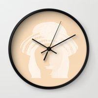 doll Wall Clocks featuring doll by daniel