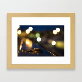Lost Coins on the Harbour Framed Art Print