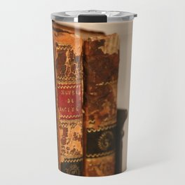 Antique books - ver 2 Travel Mug