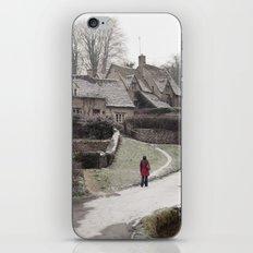 i feel winter... iPhone & iPod Skin