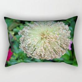 Allium Flower  Rectangular Pillow