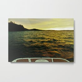 Water Hazard Metal Print