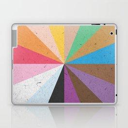 Rainbow Wheel of Inclusivity Laptop & iPad Skin
