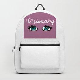 Indie Pop Art Visionary Pun Eyes Backpack 8ae7b5a81f97e