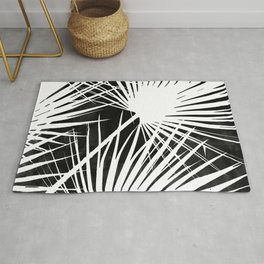 Desaturated Palm Rug