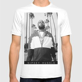 Sweetums Signatures Nipsey Hussle Poster T-shirt