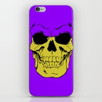 skeletor iPhone & iPod Skins featuring Skeletor by Dukesman