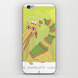 The Elephant's Garden - The Perpetual Glibb iPhone Skin