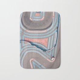 Colors and lines Bath Mat