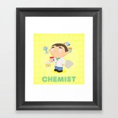 CHEMIST Framed Art Print