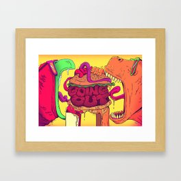 CHOMP! Framed Art Print