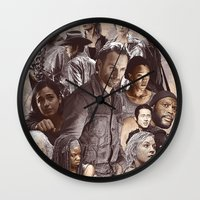 atlanta Wall Clocks featuring Atlanta by EPIK