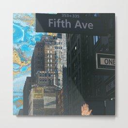 new york! Metal Print
