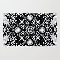 gothic Area & Throw Rugs featuring Gothic by Ornaart