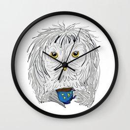 Late Night Coffee Wall Clock