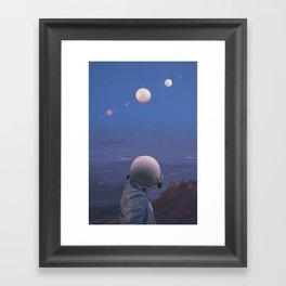 Moons Framed Art Print