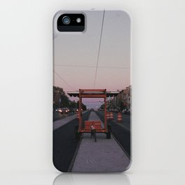 endless construction on girard iPhone Case