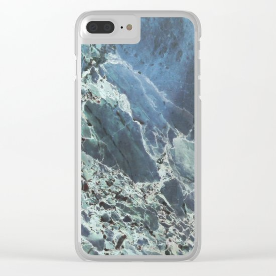 Water Marble Clear iPhone Case