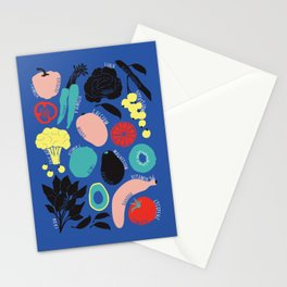 Eat more fruit and veggies Stationery Cards