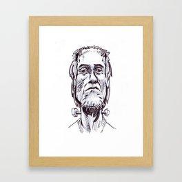 FrankenStoner Framed Art Print