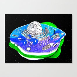 Animal Cell Canvas Print
