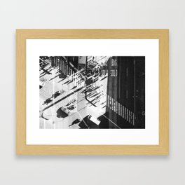 BUS SOLO SOLO BUS Framed Art Print