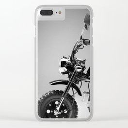 Motorcycle Clear iPhone Case
