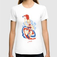 france T-shirts featuring France by Melissa Ballesteros Parada