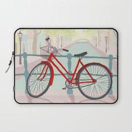Amsterdam Canal Bike Laptop Sleeve