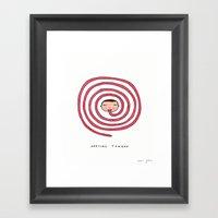 Awesome tongue Framed Art Print