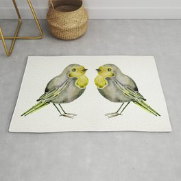Little Yellow Birds Rug
