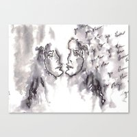 haim Canvas Prints featuring HAIM GO SLOW by Vicky Tunn