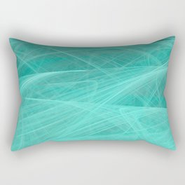 CHIFFON TURQUOISE Rectangular Pillow