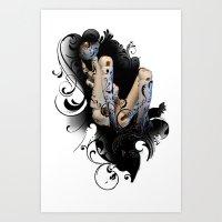 strawBerryJDolls-Ombra- Art Print