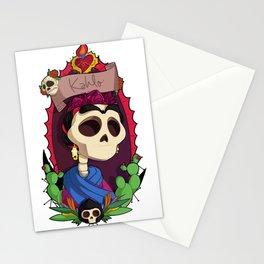 Rey Kahlo Stationery Cards