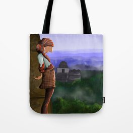 Over the Ruins Tote Bag