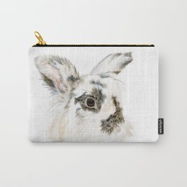 Pixie the Lionhead Rabbit by Teresa Thompson Carry-All Pouch