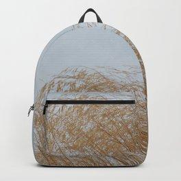 Golden weeds in summer Backpack
